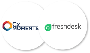Cx Moments Freshdesk integration allows you to understand your customer support conversations